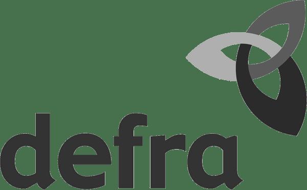 DEFRA logo BW