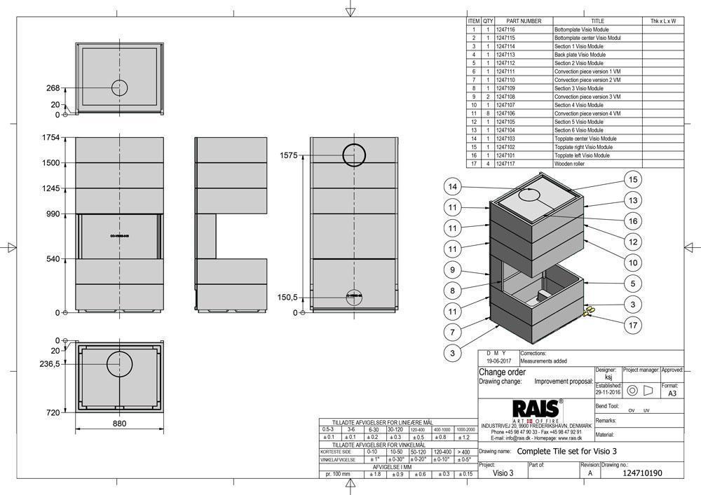 visio 3 element betonblokke til indramning af visio 3. Black Bedroom Furniture Sets. Home Design Ideas